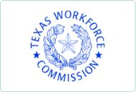 Logo of the Texas Workforce Commission