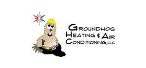 Logo of Groundhog Heating and Air Conditioning, LLC.
