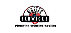 Logo of Master Services: Plumbing, Heating & Cooling
