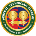 Logo of the Perfect Technician Academy (Color)
